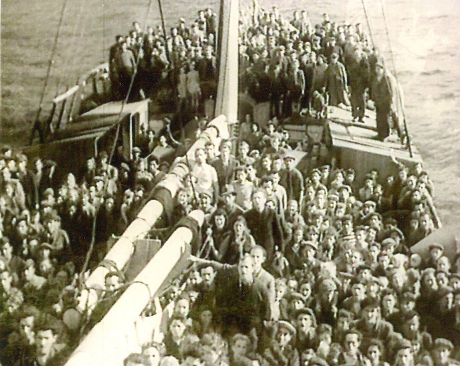 Ilustrativní snímek z filmu Příběh trosečníků Patrie