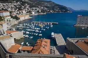 Liduprázdný Dubrovník v Chorvatsku