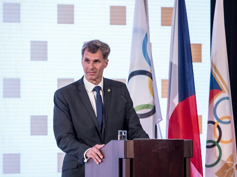 Předseda Českého olympijského výboru Jiří Kejval.