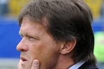 Fotbalový trenér Frank Vercauteren.