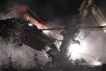 Bourání mostu na dálnici D1, ilustrační foto