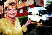 Předsedkyně Fondu ohrožených dětí Marie Vodičková.