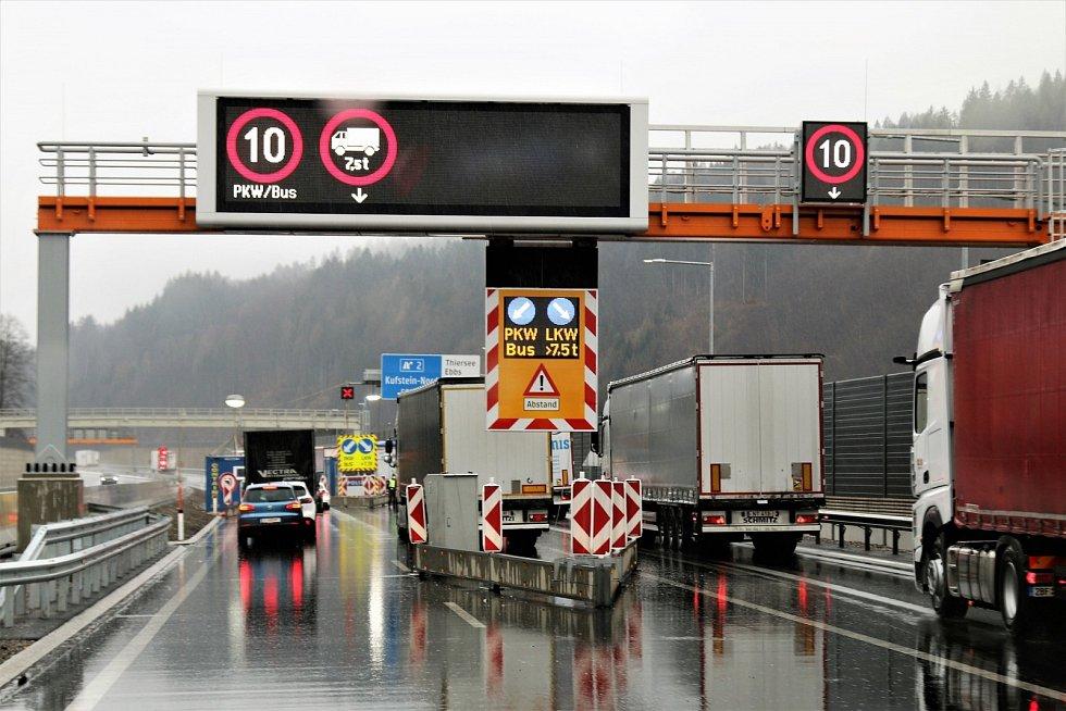 Kontroly na rakouských hranicích v době covidové