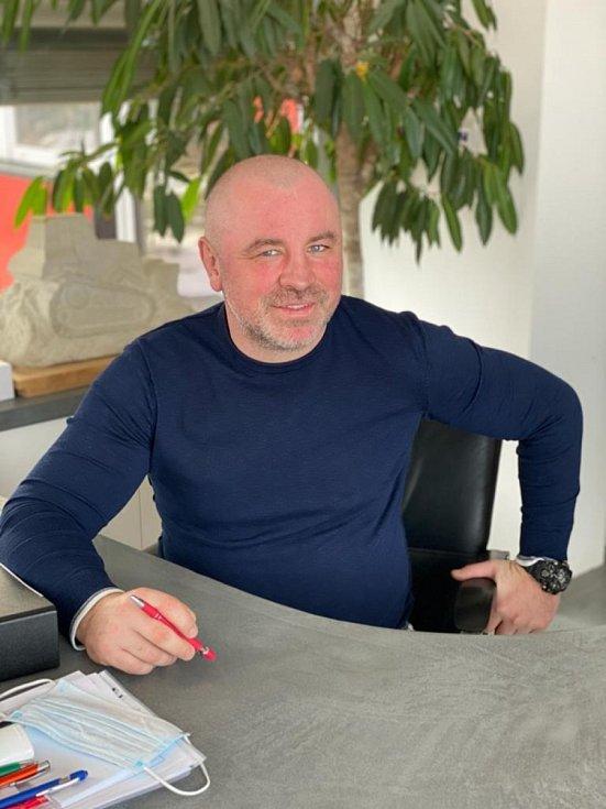 Majitel firmy Biggest, podnikatel Robert Beneš