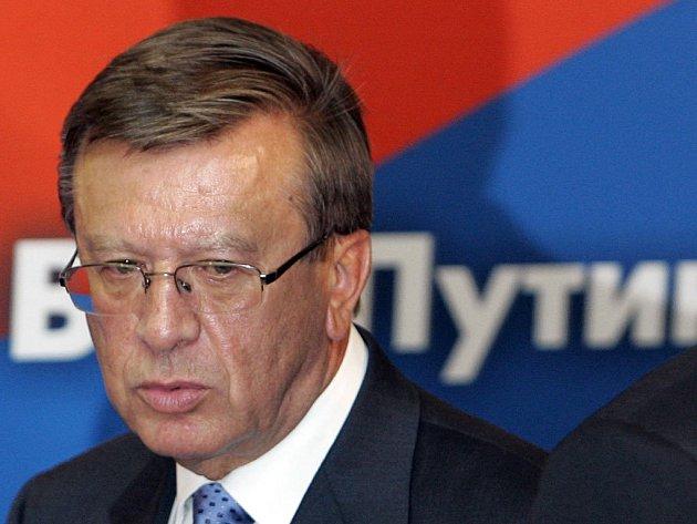 Rusko má nového premiéra. Viktora Zubkova