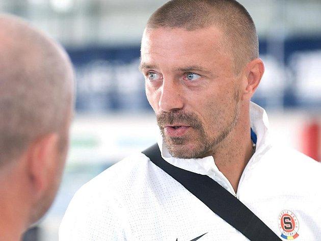 Ilustrační foto. Odlet fotbalistů Sparty do Mariboru: Tomáš Řepka.