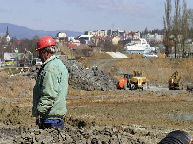 Stavebnictví zažívá boom.