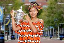 Tenistka Naomi Ósakaová