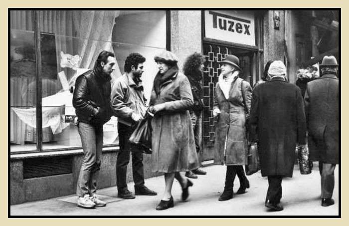 Návrat do ČSSR- Tuzex a veksláci