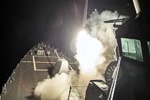 Útok USA v Sýrii