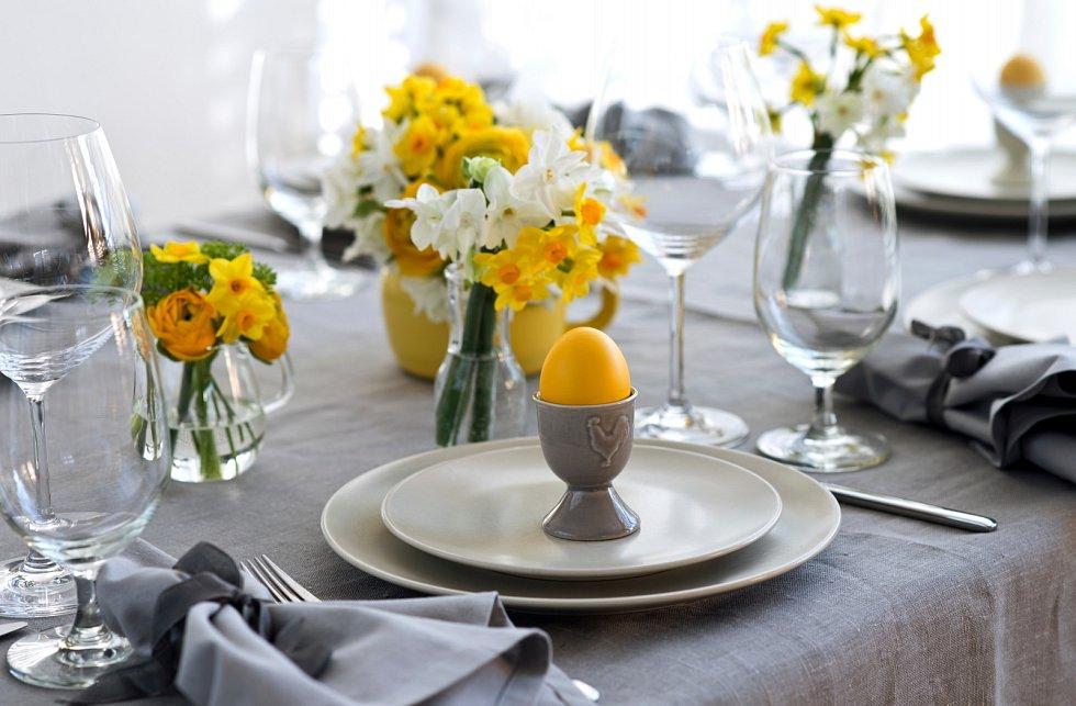 Velikonoční tabule.