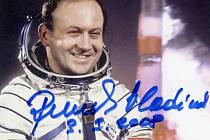 Vladimír Remek, první československý kosmonaut ve vesmíru.