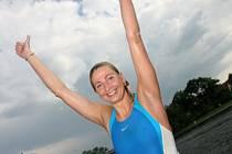 Bývala profesionální plavkyně Yvette Tulip, dříve Yvetta Hlaváčová.