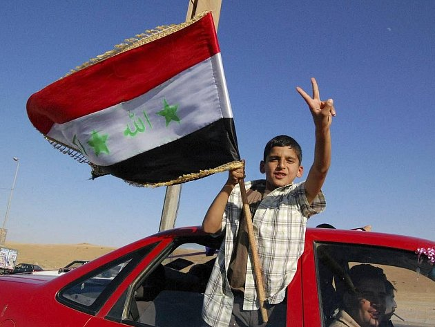 Oslavy odchodu amerických vojsk z Iráku