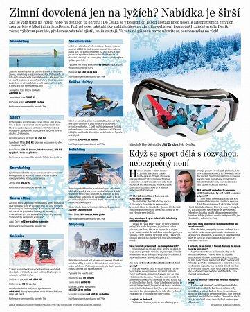 Netradiční zimní sporty