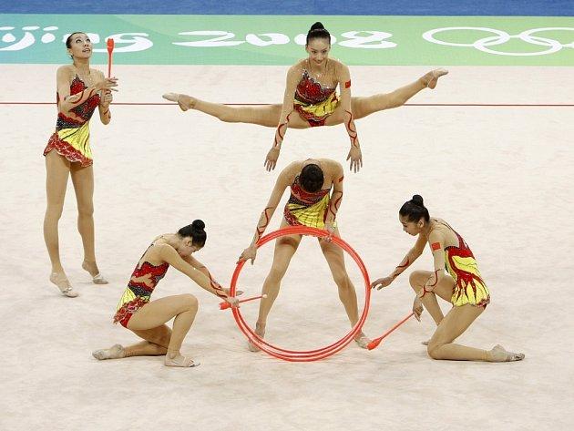 Moderní gymnastika v podání těch nejlepších.