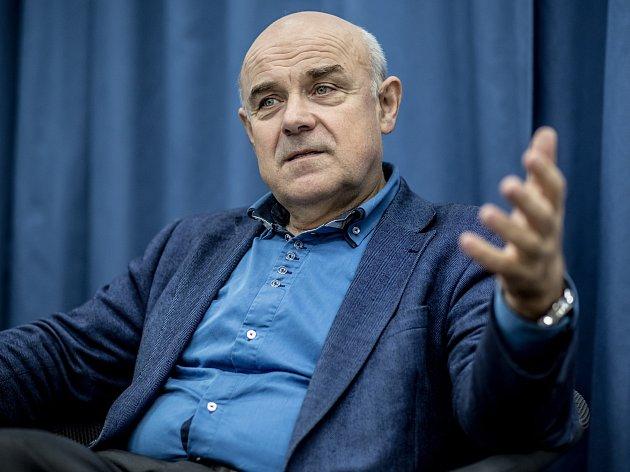 Odvolaný ředitel institutu Vladimír Mařík