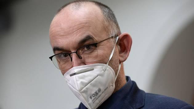 Ministr zdravotnictví Jan Blatný (na snímku z 19. listopadu 2020)