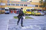 Policisté včetně speciálních jednotek zasahovali 10. prosince 2019 ve Fakultní nemocnici Ostrava. Dvaačtyřicetiletý muž tam brzy ráno střílel v čekárně traumatologické ambulance