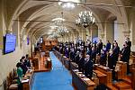 Ustavující schůze Senátu v novém funkčním období 11. listopadu 2020 v Praze