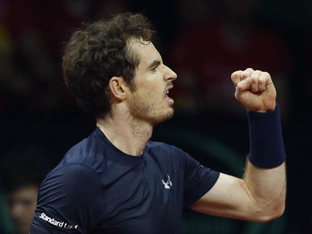 Andy Murray vybojoval Velké Británii triumf v Davis Cupu.