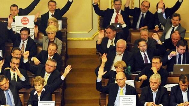 Poslanecká sněmovna, ilustrační foto.
