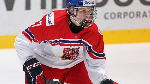 Český hokejista Ostap Safin.