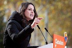 předsedkyně strany Ciutadans Inés Arrimadasová