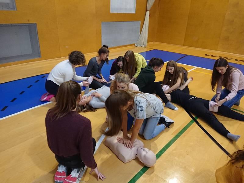 Gymnázium v Příboře - první pomoc