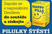 Zapojte se s regionálním Deníkem do soutěže a získejte Pilulky štěstí