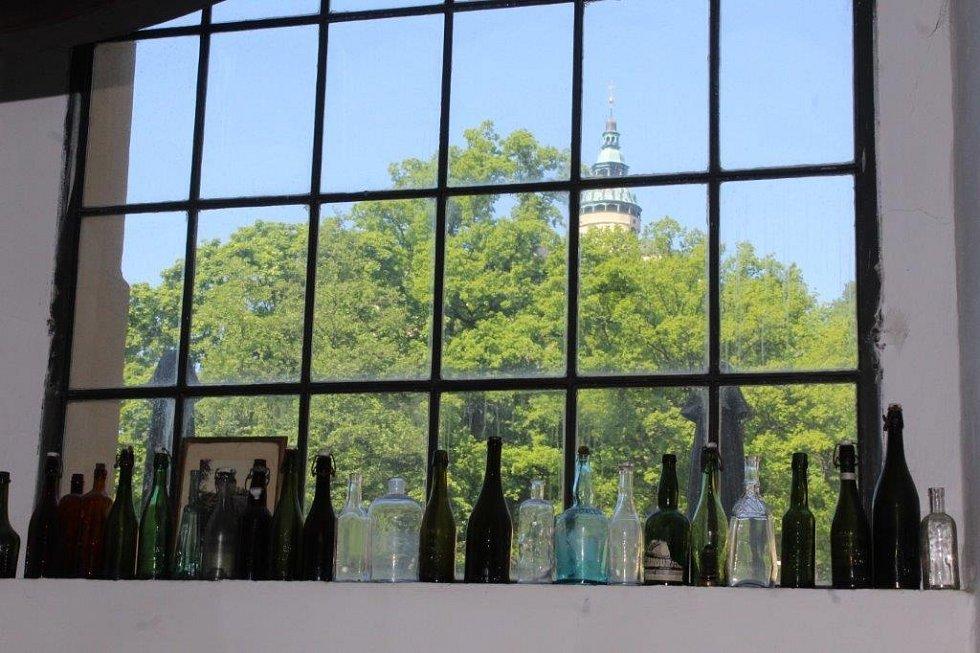 Výhled z pivovaru