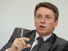 Slovenský exministr financí a pravděpodobný budoucí vicepremiér Ukrajiny Ivan Mikloš.