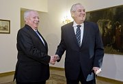 Michael Haupl a Miloš Zeman