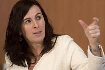 Členka komise rozhodčích FIFA Dagmar Damková.