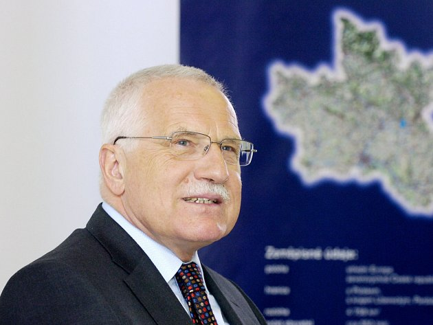 Prezident Václav Klaus na návštěvě Královehradeckého kraje