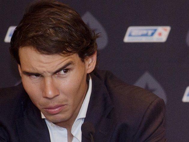 Rafael Nadal při pokeru