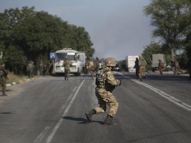 Boje na Ukrajině. Ilustrační foto.
