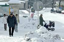 KRÁSNÁ I V ZIMĚ. Život v Horní Plané si mnozí umí představit pouze rekreačně přes léto. I v zimě má však město svoje kouzlo.