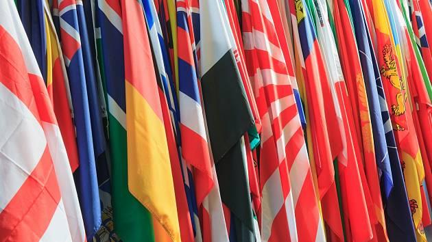 Vlajky - Ilustrační foto