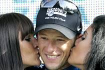 Jason McCartney - vítěz 14. etapy cyklistické Vuelty.