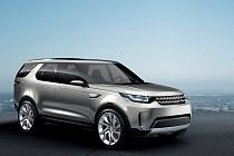 Koncept Land Rover Discovery Vision.