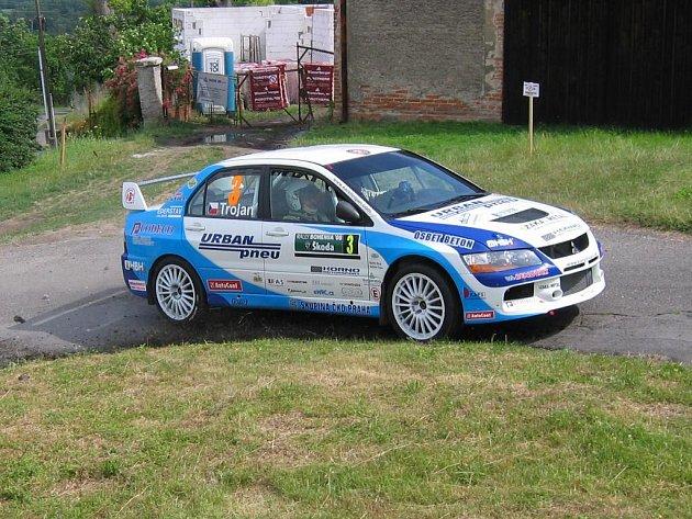 Karel Trojan na červencové Rallye Bohemia.