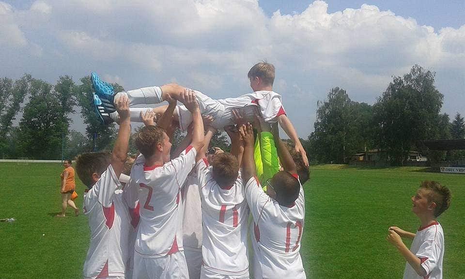 Můj fotbalový tým.