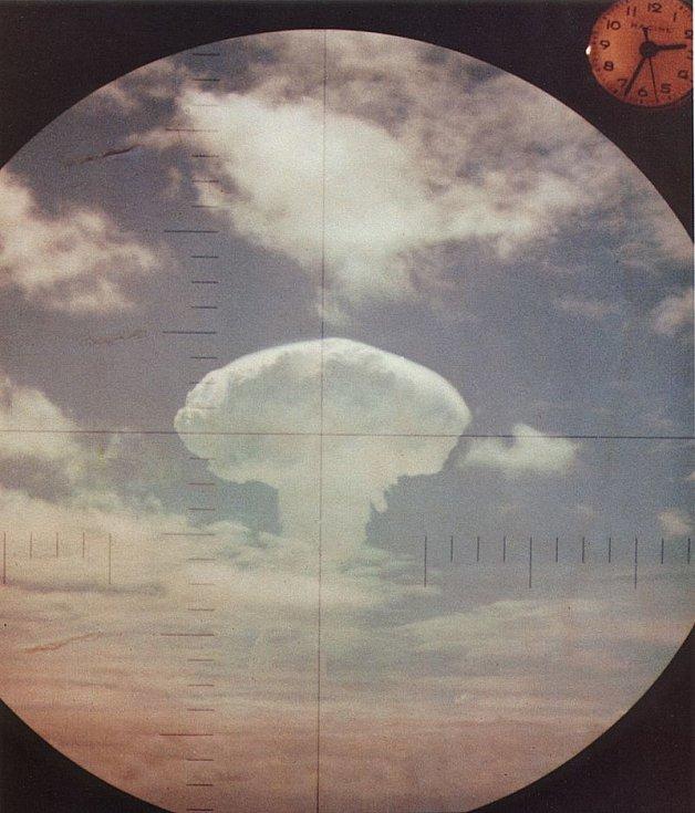 Cvičný jaderný výbuch Frigate Bird, provedený v rámci operace Dominic americké armády