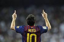 Fantastický Messi opět dostal Barcelony na fotbalový Olymp.