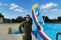 Akrobatický letec Martin Šonka se stal instruktorem v Centru leteckého výcviku Pardubice (CLV)