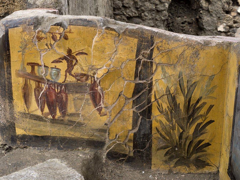 Antické rychlé občerstvení v Pompejích