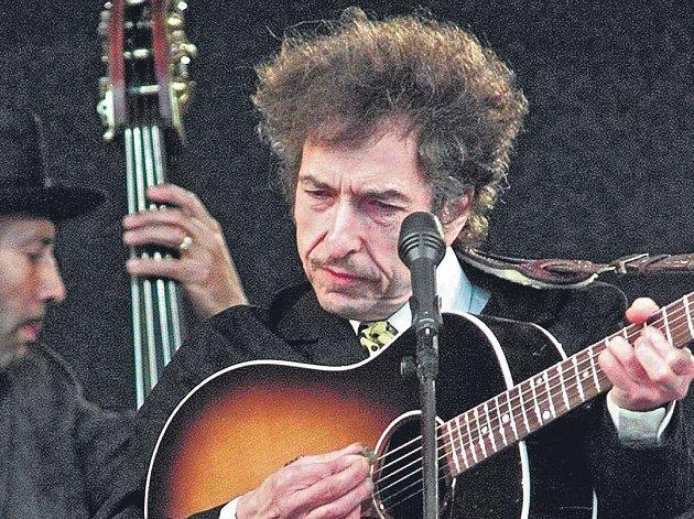 Slavný písničkář Bob Dylan