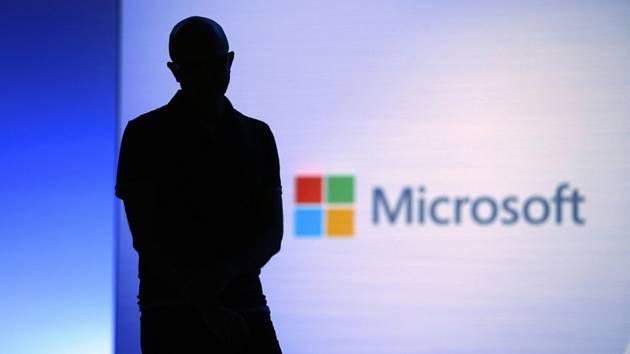 Logo americké společnosti Microsoft