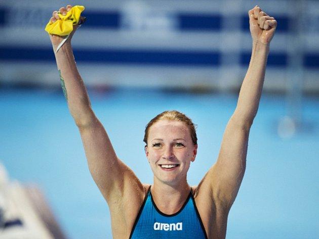 Sarah Sjöströmová překonala ve finále MS světový rekord na motýlkářské stovce.